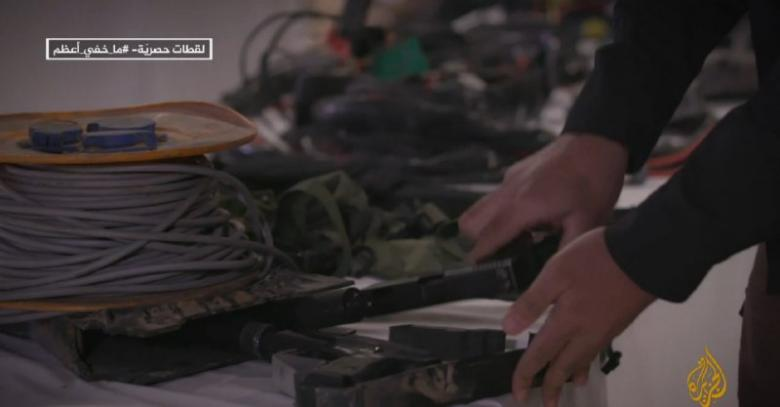 """لحظة اشتباك عناصر القسام من قلب """"دائرة النار"""" التي صنعها طيران الاحتلال"""