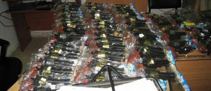 قلقيلية: ضبط كمية من المسدسات البلاستيكية والخرز ممنوعة التداول