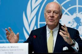 دي مستورا: ليس هناك حلول فورية لأزمة سوريا