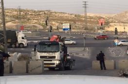 الاحتلال يغلق مداخل قرى شرق بيت لحم