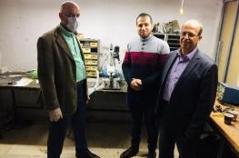 الأولى فلسطينيا.. ورشة عمل توصي بتبني مبادرات تصنيع أجهزة تنفس صناعي