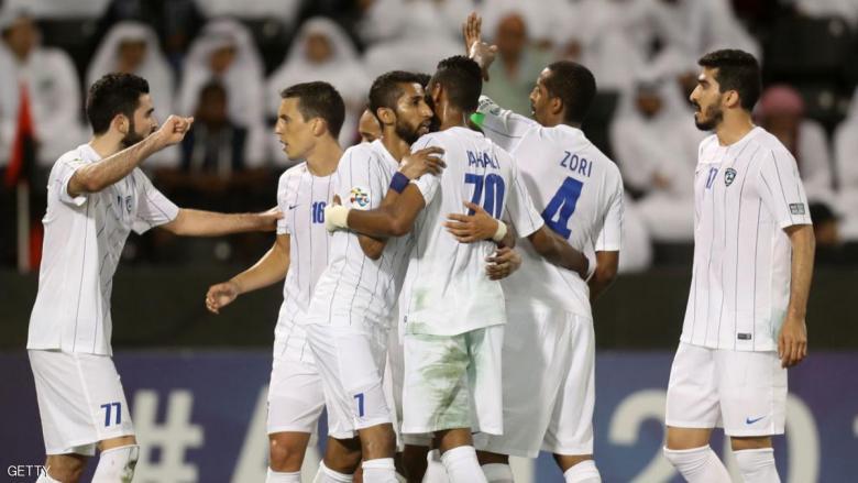 ثنائية محلية للهلال السعودي بعد فوزه على الأهلي