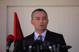 """المنسق الأممي """"ميلادينوف"""" يصل قطاع غزة"""