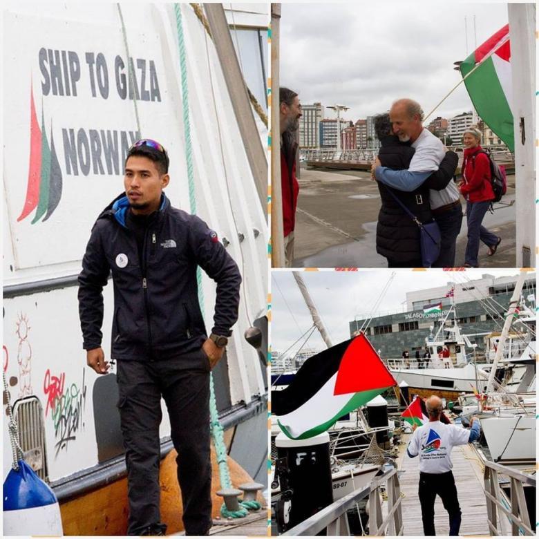 سفن أسطول الحرية تصل اسبانيا وتمضي لكسر حصار غزة