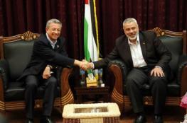 هنية يلتقي البرغوثي بغزة