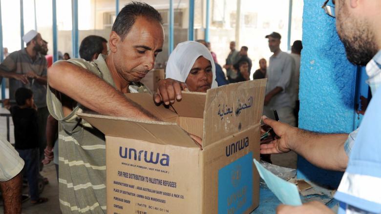أونروا: المساعدات الغذائية مهددة إذا لم يتوفر الدعم
