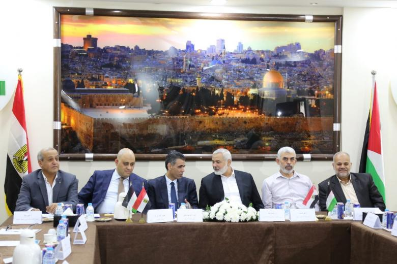 حماس: هذا ما يريده الوفد الأمني المصري