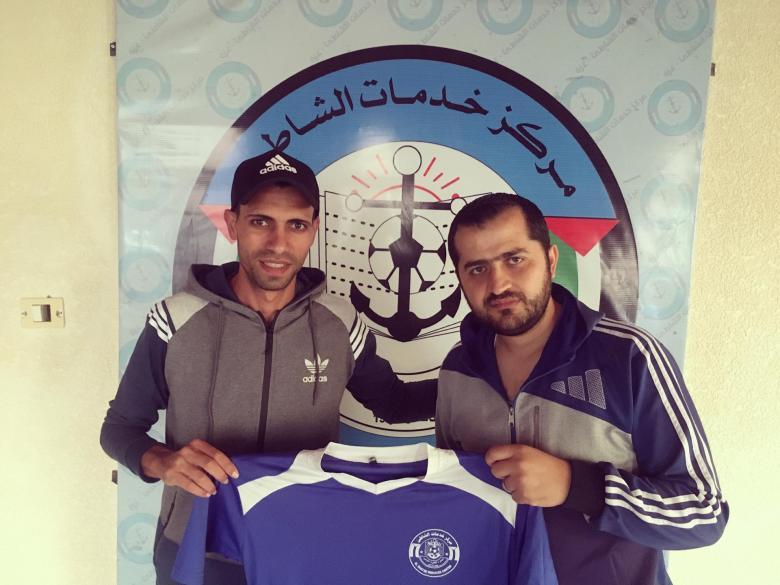 """""""البحرية"""" يضم لاعب أهلي غزة"""