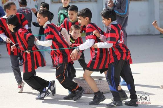 مديرية نابلس تطلق فعاليات الأولمبياد الرياضي المدرسي