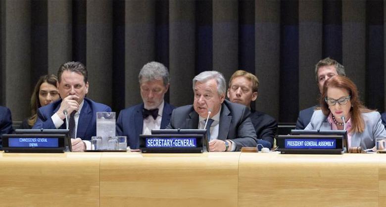 المجتمع الدولي يقدم دعماً مميزا لوكالة الغوث في فلسطين
