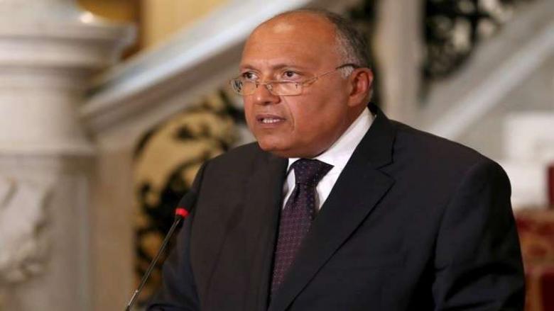 شكري يعلن عن موقف مصر من إلغاء اتفاقية مع السودان