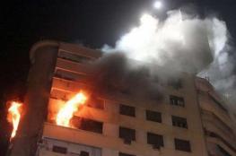 5 إصابات بالاختناق في حريق منزل جنوب الخليل