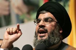 نصر الله: هدف ما يجري بالمنطقة هو إنهاء القضية الفلسطينية