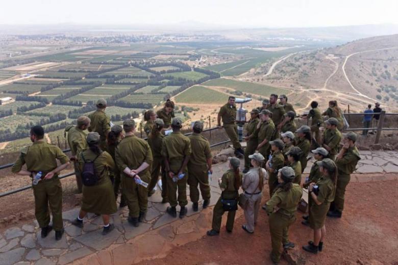 """قائد  إيراني يتوعد """"إسرائيل"""" في الجولان المحتل"""