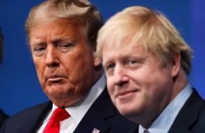زعماء حلف الناتو خلال قمة لندن والتي انتهت بغضب الرئيس الأمريكي