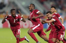 منتخب فلسطين يتلقى خسارة قاسية من قطر