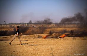 المواجهات على الحدود الشرقية لمحافظة خانيونس