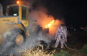 الدفاع المدني يخمد حريق