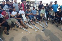 انطلاق الحملة الشعبية لمناصرة جرحى غزة