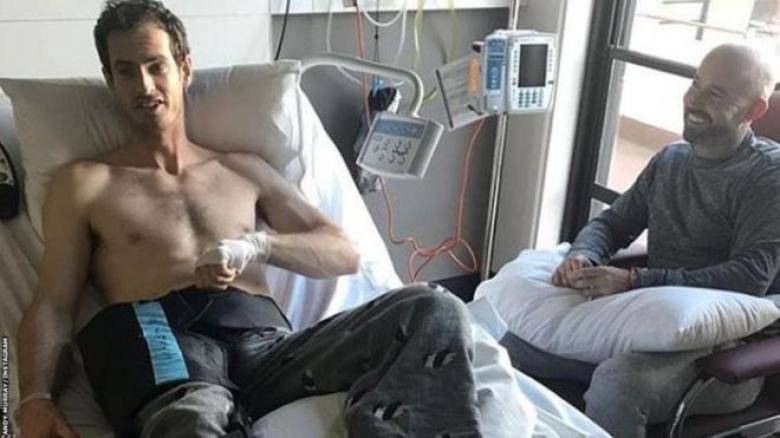 عملية جراحية في فخذ آندي موراي