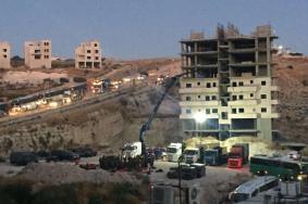 الاحتلال يبدأ بهدم 70 شقة سكنية بوادي الحمص شرق القدس