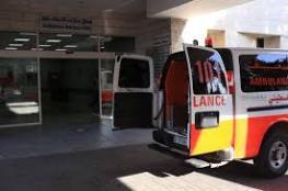 إصابة طفلة بجراح بحادث سير بغزة