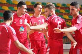 خدمات جباليا يخسر أولى مبارياته ببطولة الأندية العربية لكرة الطائرة