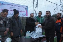 كتلة المعلمين في البريج تنظم بطولة كرة قدم