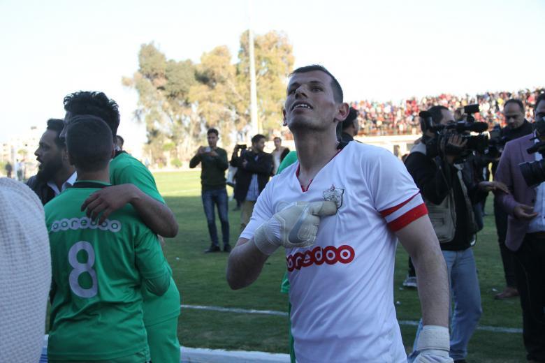 ظهير يسجل اسمه بأحرف من ذهب في كأس غزة