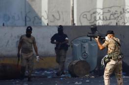 """احتجاجات العراق.. الأمن يعزل """"الخلاني"""" عن """"التحرير"""" والرئاسات تسعى للتهدئة"""