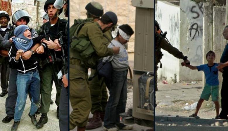 """الحركة العالمية: الاحتلال يتعامل مع الأطفال بأسلوب """"العصابات"""""""