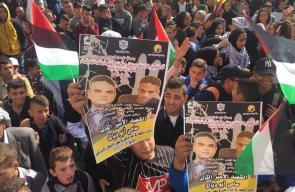 مسيرات غضب في جنين بعد استشهاد الأسير