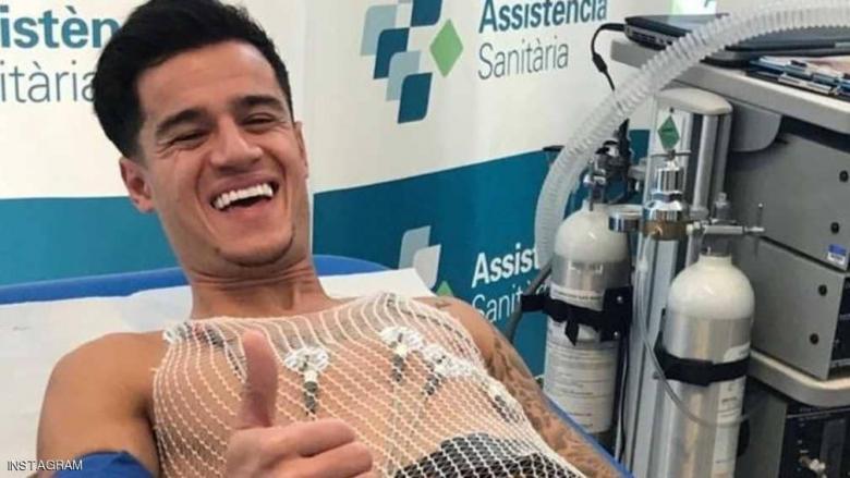 صور الفحص الطبي تكشف مفاجأة عربية على صدر كوتينيو