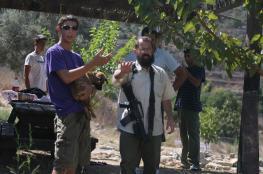 نابلس: مستوطنون يتخلصون من نفاياتهم بأراضي المواطنين