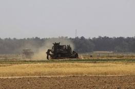 توغل محدود لقوات الاحتلال وسط القطاع
