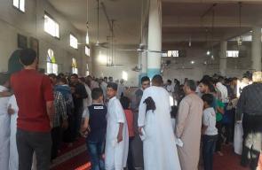 أجواء صلاة العيد في بيت لاهيا شمال القطاع
