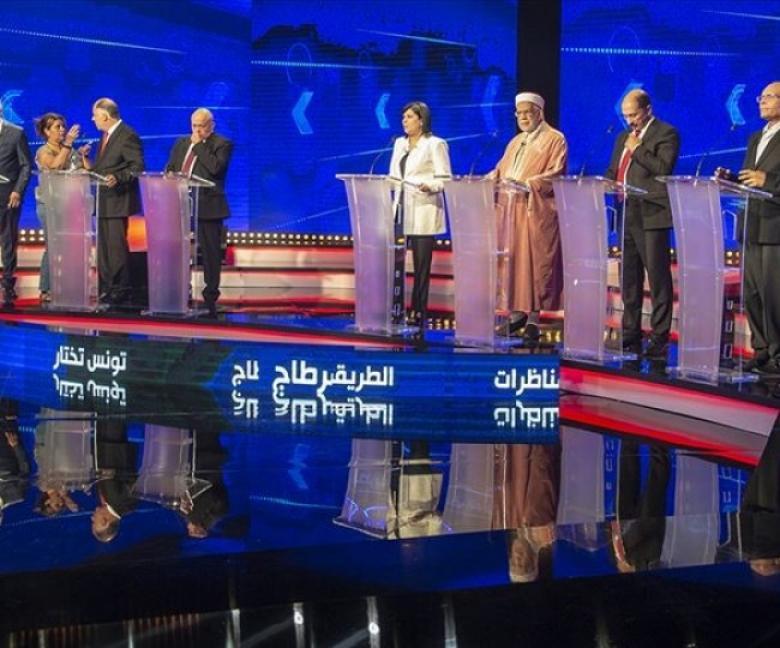 تونس تُجري مناظرات مباشرة بين مرشحي الرئاسة