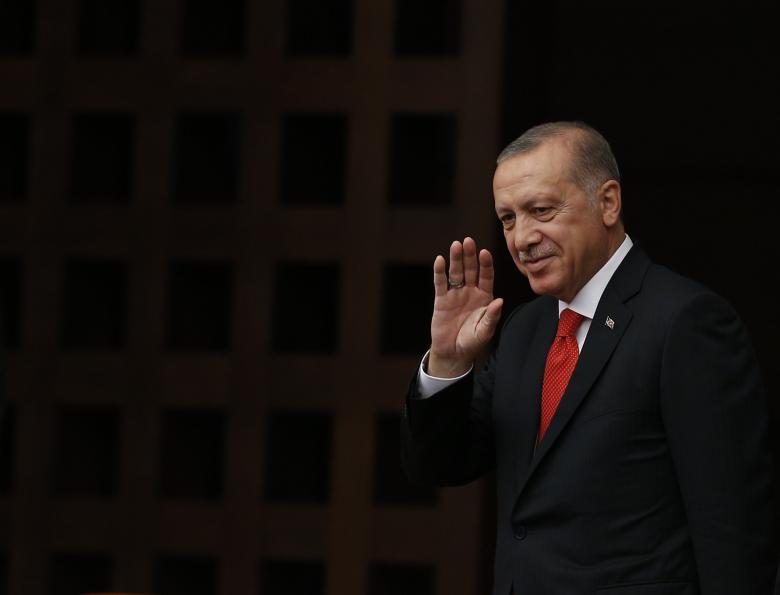 أردوغان يصل إلى قبرص التركية