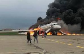 إصابة 23 شخصا بهبوط اضطراري لطائرة ركاب في ضواحي موسكو