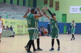 انتصار جديد لخدمات رفح في دوري السلة