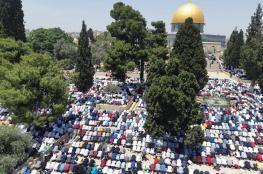 الأوقاف: أكثر من ربع مليون مصل يؤدون الجمعة الأخيرة من رمضان في الأقصى