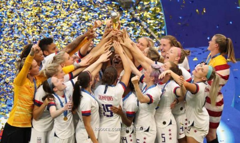 أمريكا تقهر هولندا وتتوج بكأس العالم للسيدات