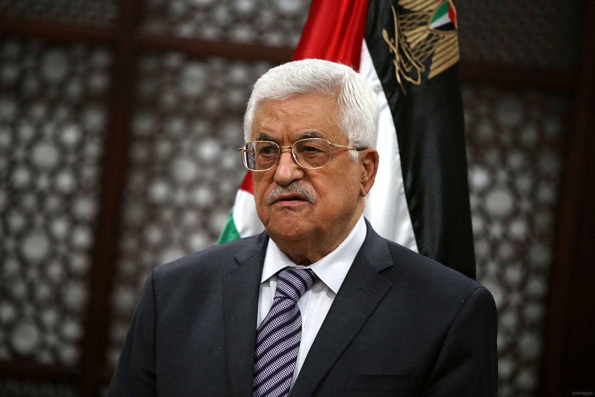 نتيجة بحث الصور عن عباس: إسرائيل لم تطبق أي قرار دولي بسبب دعم الولايات المتحدة وترامب انقلب على وعوده لنا