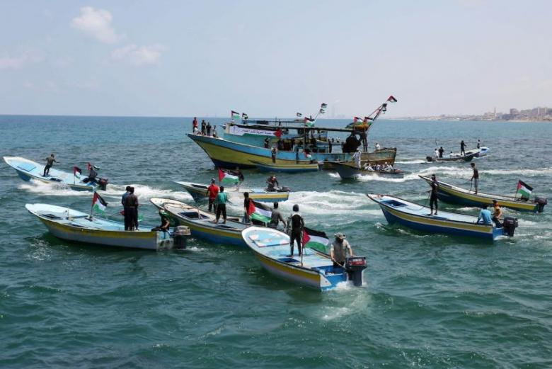 غزة: استعدادات لإطلاق سفن الحرية الرابعة نحو العالم