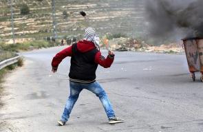 مواجهات عنيفة مع الاحتلال في بيت إيل شمال البيرة