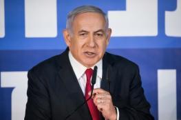 نتنياهو يطالب بتقليل اللقاءات التلفزيونية للحد من كورونا