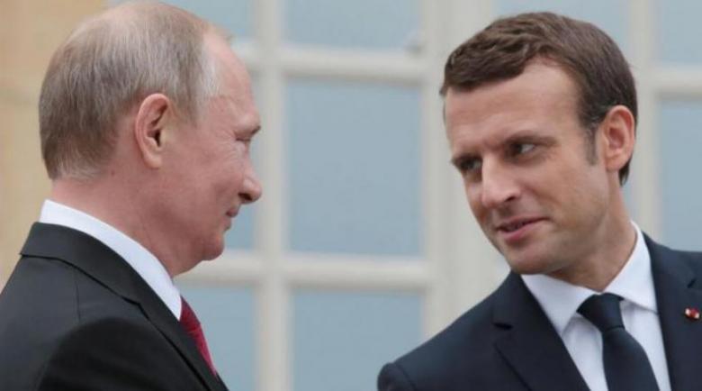 ماكرون يلتقي بوتين على هامش نهائي كأس العالم الأحد