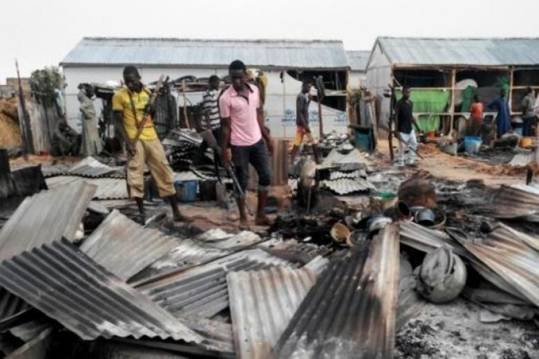 28 قتيلا و82 جريحا باعتداء نفذته ثلاث انتحاريات بنيجيريا