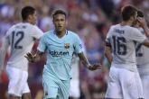 نيمار يواصل تألقه ويقود برشلونة لهزيمة مانشستر يونايتد