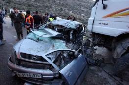 إصابة 11 مواطنا في حادث سير جنوب الخليل